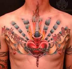 Sacred Heart Tattoo 14