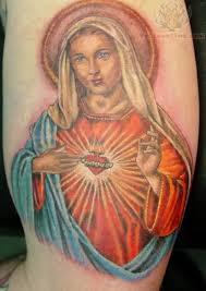 Sacred Heart Tattoo 16