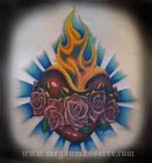 Sacred Heart Tattoo 20