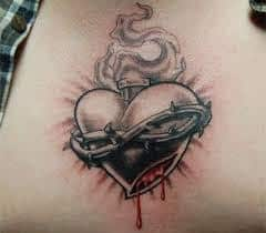 Sacred Heart Tattoo Meaning 45 Ideas And Designs