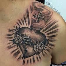 Sacred Heart Tattoo 35