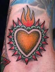 Sacred Heart Tattoo 36