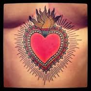 Sacred Heart Tattoo 4