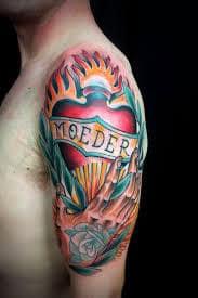 Sacred Heart Tattoo 47