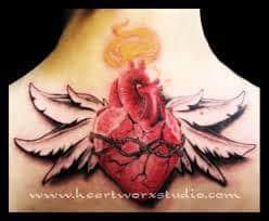 Sacred Heart Tattoo 49
