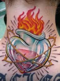 Sacred Heart Tattoo 9