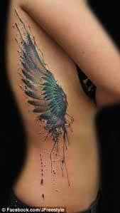 Angel Wings Tattoos 24