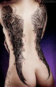 Angel Wings Tattoos 9