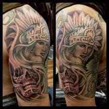 Aztec Tattoos 15