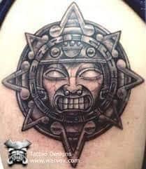 Aztec Tattoos 19