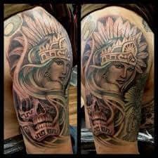 Aztec Tattoos 38