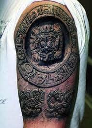 Aztec Tattoos 51
