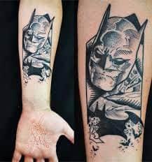 Batman Tattoos 16