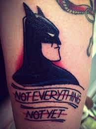 Batman Tattoos 36