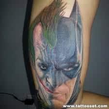 Batman Tattoos 40