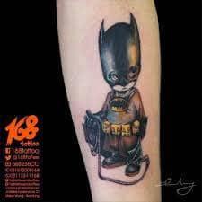 Batman Tattoos 45
