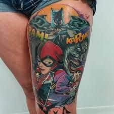 Batman Tattoos 6