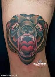 Bear Tattoo 13