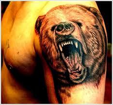 Bear Tattoo 16