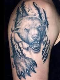 Bear Tattoo 22