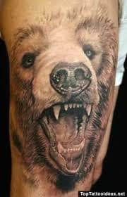 Bear Tattoo 23
