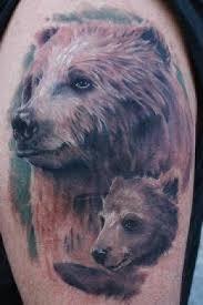 Bear Tattoo 24