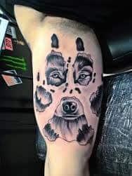Bear Tattoo 25