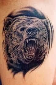 Bear Tattoo 26