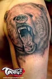 Bear Tattoo 27
