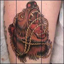 Bear Tattoo 34