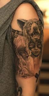 Bear Tattoo 4