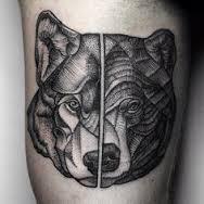 Bear Tattoo 42