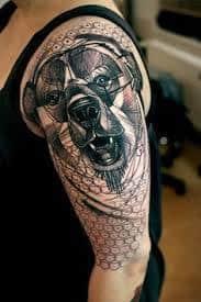 Bear Tattoo 43