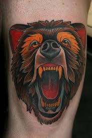 Bear Tattoo 48