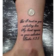Bible Verse Tattoos 49