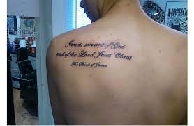 Bible Verse Tattoos 7