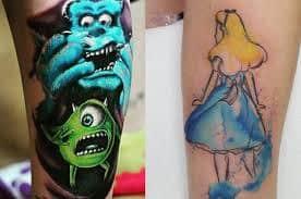 Disney Tattoos 33