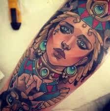 Egyptian Tattoos 22
