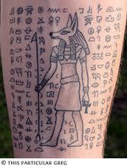Egyptian Tattoos 24
