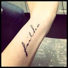 Faith Tattoos 19