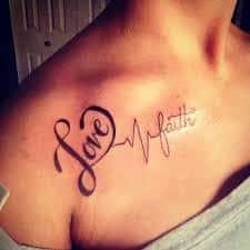 Faith Tattoos 48
