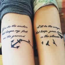 Friendship Tattoos 1