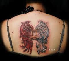 Gemini Tattoos 22