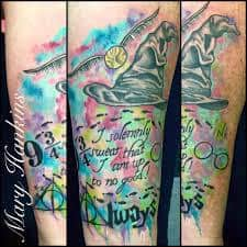 Harry Potter Tattoos 20