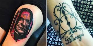 Harry Potter Tattoos 33