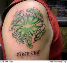 Irish Tattoos 50