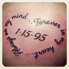 Memorial Tattoos 50