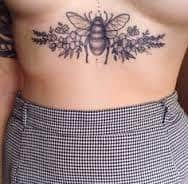 Sternum Tattoos 17