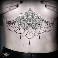 Sternum Tattoos 29