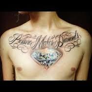 Sternum Tattoos 37